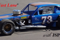 Vintage Modified racecar, #73